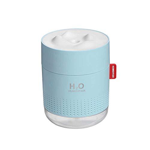 LYDUL draagbare ultrasone luchtbevochtiger 500 ml USB aroma luchtdoorlaat met romantische bedlamp, voor grote kamer huis 18 uur rond, luchtbevochtigers voor slaapkamer.