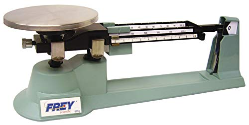 Frey Scientific Triple Beam Balance, 610g Capacity, 0.1g Readability