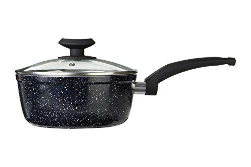 Premier Housewares Stoneflam Casserole, Noir, 20 cm