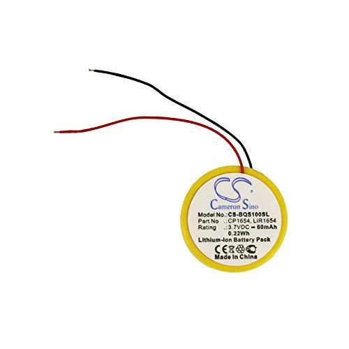 cellePhone Batteria Li-Ion Compatibile con Bose Soundsport Pulse - SoundSport Wireless (sostituita CP1654 / LIR1654)