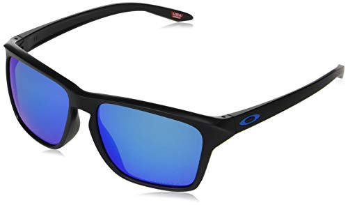Oakley Men's Oo9448f Sylas Asian Fit Rectangular Sunglasses