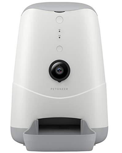 PETONEER XIAOMI NUTRI Vision WiFi DISTRIBUTORE Intelligente Automatico di Alimenti con VIDEOCAMERA Integrata HD Dispenser Cani Gatti Alimentatore MANGIATOIA Ciotola Automatica Cibo