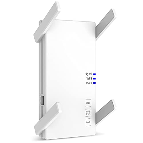 [2021 New Version] Wall-Through Strong WiFi Range Extender 2100Mbps,up to 3000 Sq.ft...