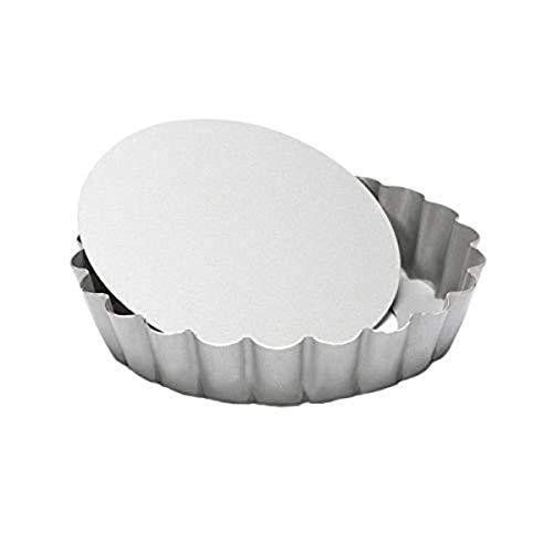 patisse 2048296 Mini-Tourtière à Fond Amovible Silver Top 10 cm, Autre