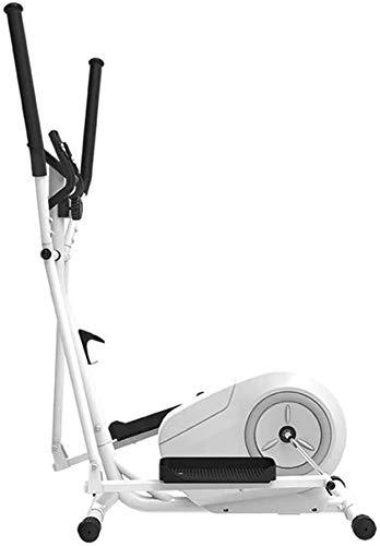 Wghz Máquina elíptica, Control magnético, máquina elíptica 3 en 1, Bicicleta de Ejercicios giratoria, Carga máxima de 110 kg, Equipo portátil pequeño y Ultra silencioso para Ejercicios