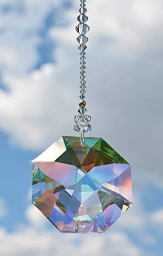 Sonnenfänger 'Crystal-Giant' - handgearbeitet aus funkelnden Kristallen von Swarovski® Geschenk Hochzeit Einzug Jubiläum Weihnachten
