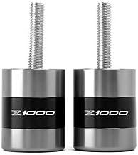 HANLING Accesorios de la Motocicleta CNC apretones de Manillar de Barra de la manija Termina el Enchufe Anti vibraci/ón for Kawasaki Z250 Z300 Z650 Z750 Z800 Z900 Z1000 Color : Golden