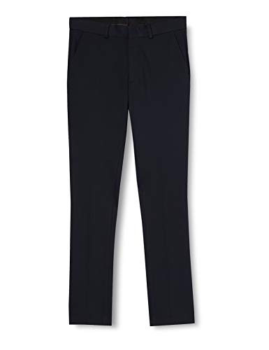 New Look Smart Jersey Jogger Pantaloni, Blu (Navy 41), W34 / L32 Uomo