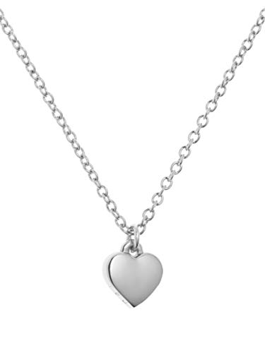 Ted Baker Hara Tiny Heart Pendant Necklace, Silver