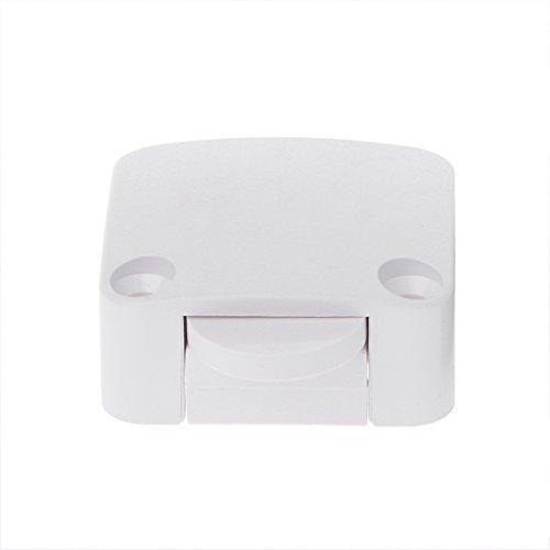 DROHOO 202A Interruptor de reinicio automático/Normalmente Cerrado/Armario/Armario/Interruptor Deslizante, Blanco