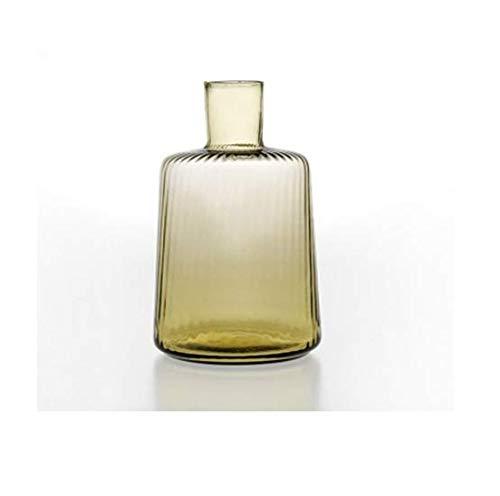 GV VG Ve_Nier - Articulo Plisado 5660041.NG - Juego de 2 Botellas (13 x 22 cm), Color Naranja (Cocina)