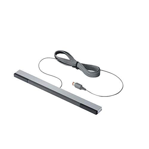 BRAVOSOLEIL Universal kabelgebundener Infrarot-Sensor IR Ray Bewegungsmelder Bar Infrarot-Empfänger Professionelles Zubehör Kompatibel mit Nintendo Wii und Wii U Konsole