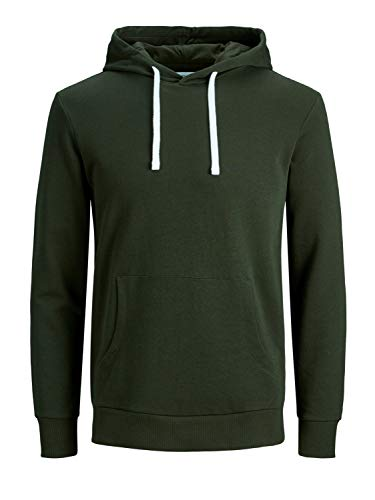 JACK & JONES Herren JJEHOLMEN Sweat Hood NOOS 12136885, Rosin/REG FIT, XS