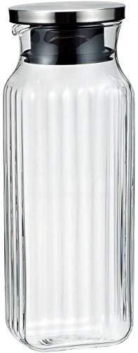 iwaki(イワキ) 耐熱ガラス スクエアサーバー 1L ステンレス蓋 K296K-SV