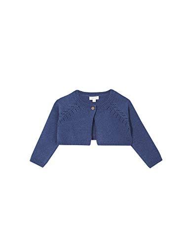 Gocco Chaqueta Corta Azul Medio Cardigan Sweater, 43991 Unisex bebé