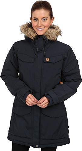 Fjallraven Damen Nuuk Parka W Sport Jacket, Dark Navy, S