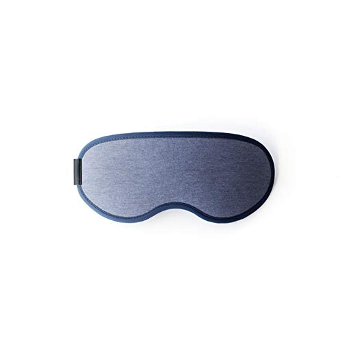 CHAO slaapbril, herbruikbaar, slaapmasker met verduisteringsriem, verstelbaar, geschikt voor mensen met verschillende hoofdomtrekken, handig voor nachtploegenarbeiders