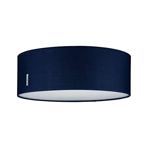 Paulmann 70951 Deckenleuchte Mari max. 2x20 Watt Deckenlampe Blau Wohnzimmerlampe Stoff Flurlampe E27