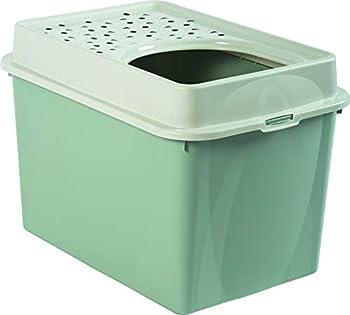 Rotho Maison De Toilette pour Chat