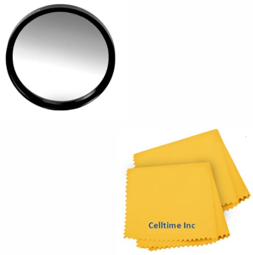 67MM Celltime Elite Graduated Gray (ND ND) Lens Color Filter for DSLR Cameras + Celltime Elite Cleaning Cloth