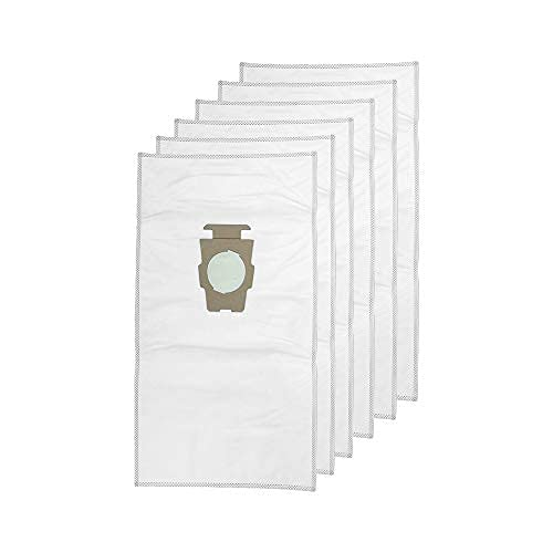 1 Pack (6 Bags) Vacuum Cleaner Dust Bag for Kirby Part 204814 204811 Universal White Cloth Bags fit All Generation & Sentria Models
