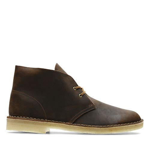 Clarks Originals Boot, Stivali Desert Boots Uomo, Marrone (Beeswax Leather -), 44 EU