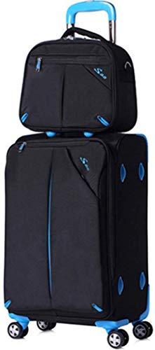 Bruikbare trolley-tas handtas wachtwoord box bagagetas artikel opbergetui schoudertas - waterdicht zonwering - Boarding Mode-Design (kleur: blauw maat: 86L) (kleur: blauw, maat: 86L)