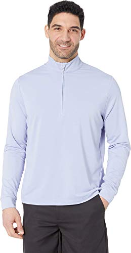 Callaway Performance Long Sleeve Solid Sun Protection Pullover, Brunnera Blue, 3X-Large