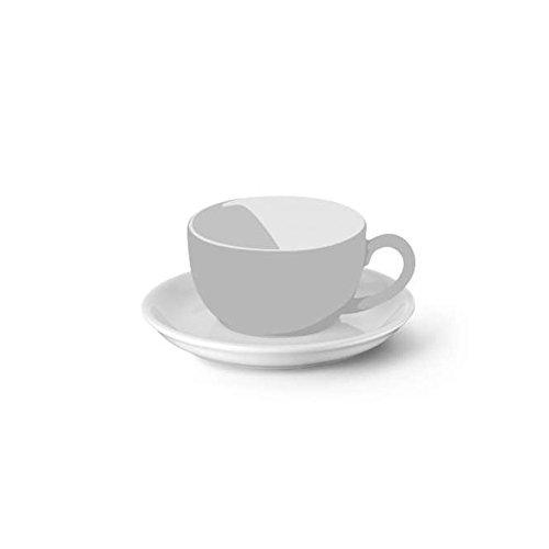 Dibbern Solid Color Espressotasse weiß Untere