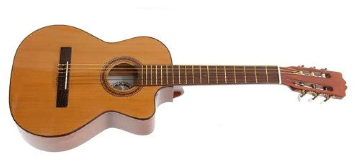 以前は自分息子Paracho Elite Del Rio Requinto Guitar アコースティックギター アコギ ギター (並行輸入)