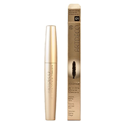 Artdeco All in One Mineral Mascara 01 Black, 1er Pack (1 x 1 Stück)