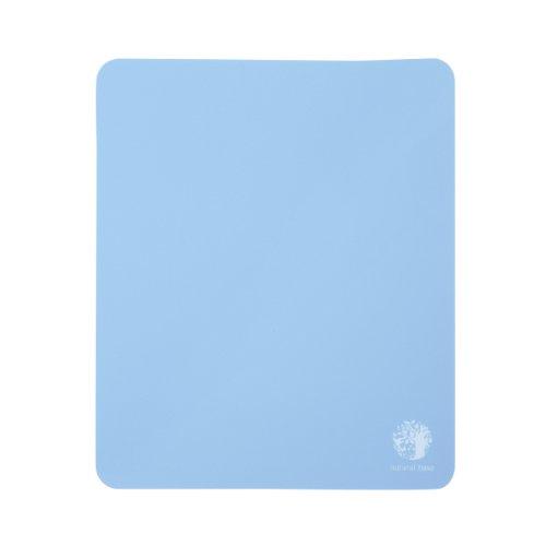サンワサプライ ベーシックマウスパッド ブルー natural base MPD-OP54BL 1個