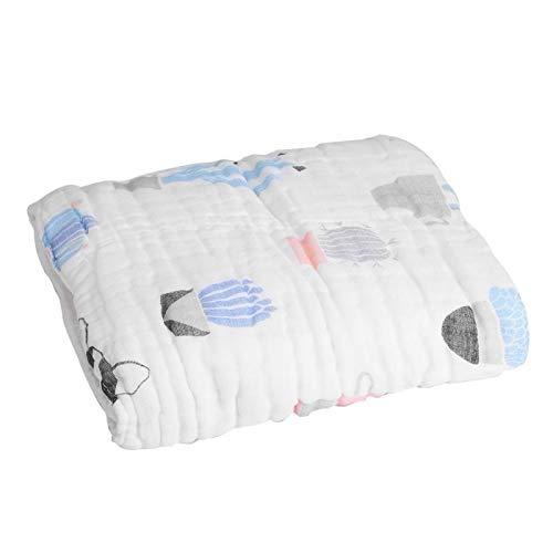SALUTUYA Toalla segura y respetuosa con el medio ambiente, toalla de muselina ultra suave absorbente, se puede utilizar como toalla de baño, (cactus de cachorro)