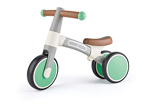 Hape E0104 Mein erstes Lauf-Dreirad, Hellgrau, aus Aluminium, ab 12 Monaten