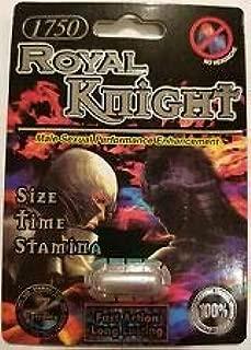 Royal Knight 1750 7 Days Long Lasting Time.Size.Stamina Enhancer PWR 24 Pills