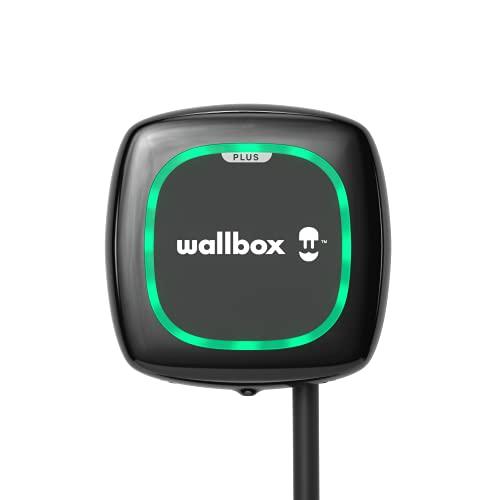 Wallbox Caricatore Pulsar Plus con Una Potenza di Carica Fino a 7,4 kW, connettore Tipo 1 con Cavo di 5 Metri. Connettività Bluetooth e Wi-Fi.