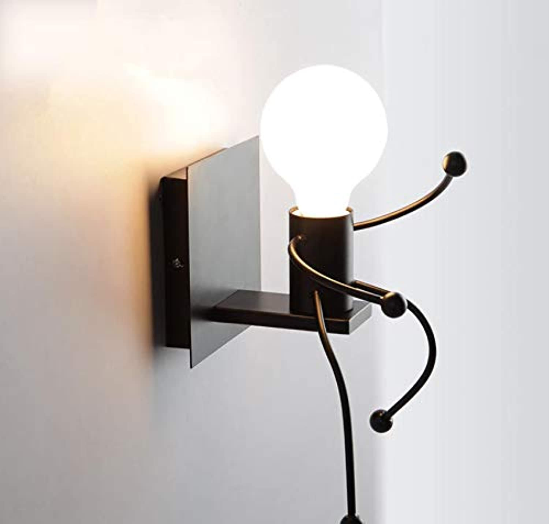 Kreative Loft Wand Lampe Bett Wohnzimmer Bett Gang Korridor Wand Lampe Fach Restaurant Club Cafe Lampe