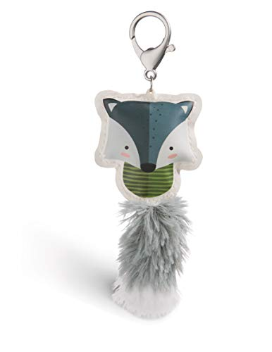 Nici 45591 Wolf 12cm Taschenanhänger aus Kunstleder, bunt