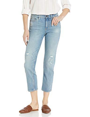 Goodthreads Girlfriend jeans, Vintage Destructed, 27