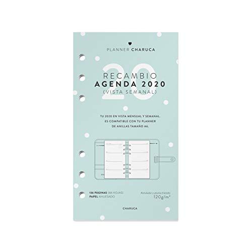 Charuca Recambio Agenda 2021. Semanal, A6