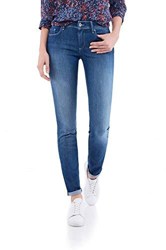Salsa Jeans Wonder Push Up, mittelhoher Taillenbund, mittlerer Farbton