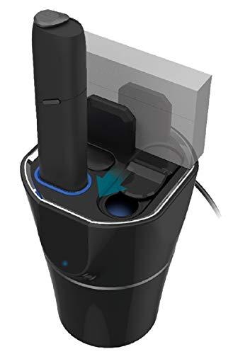 カシムラ IQOS3MULTI専用オールマイティスタンド 充電可能 インジケータ付き 灰皿付 NIQ-37