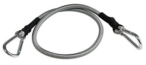 Windhager Mousqueton Expander Corde de sécurité en Caoutchouc Corde planifier Voile Spanner Kara Binde Lot de 4 Crochets, 70 cm, Noir, 70 x 3.5 x 3.5 cm, 10979