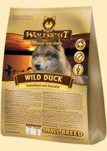 Wolfsblut Wild Duck SMALL Breed Trockenfutter für kleine Rassen mit Ente und Kartoffeln Sparpack 2 x 2 kg