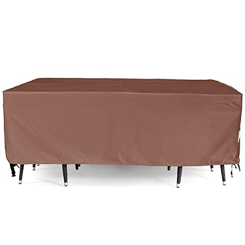 Patio Furniture Cover, Waterproof, Tear-Resistant, UV Resistant Outdoor Table and Chair, Sofa, Sectional Cover, 128x82 inches