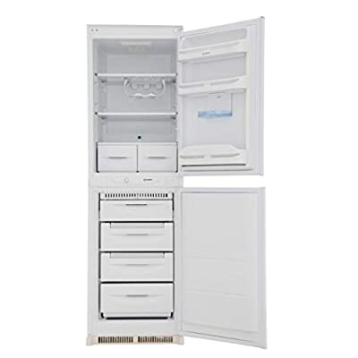 Indesit INC325FF 269 Litre Integrated Fridge Freezer 50/50 Split 178cm Tall Frost Free 54cm Wide - White