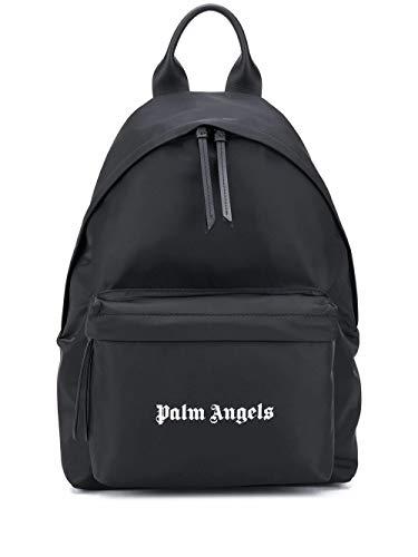 PALM ANGELS Luxury Fashion Herren PMNB008F20FAB0011001 Schwarz Polyamid Rucksack | Herbst Winter 20