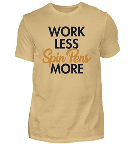 Penspinning Pen Spinning   01497 - Camiseta para hombre, arena, M