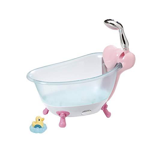 Zapf Creation 824610 BABY born Bath Badewanne mit Duschfunktion und Licht- und Soundeffekten, Puppenzubehör 43 cm, bunt