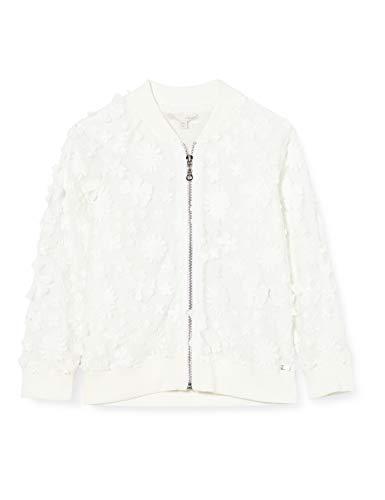 Mexx Mädchen Jacke, Weiß (Bright White 110601), (Herstellergröße: 140)